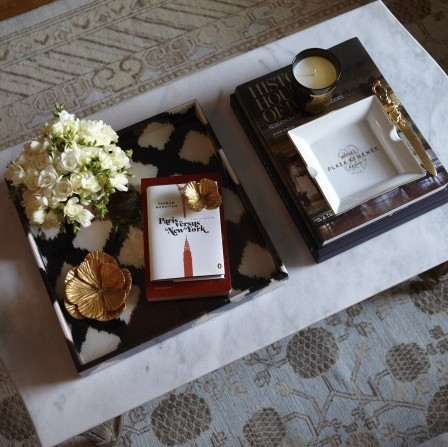 Paris vs New York Plaza Athenee Tray